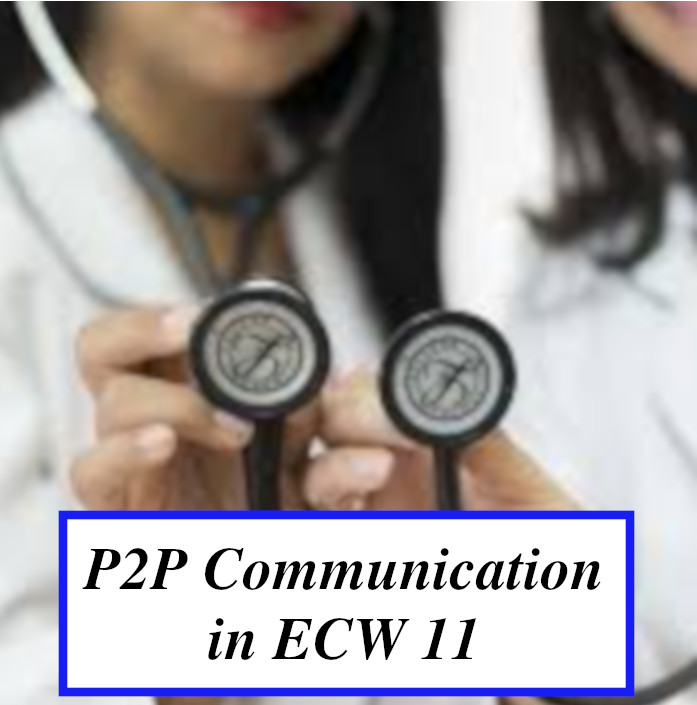 P2P Communication in eCW 11