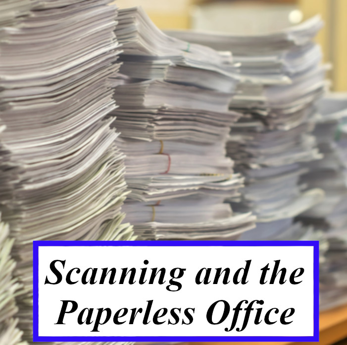 Scanning and Paperless Office
