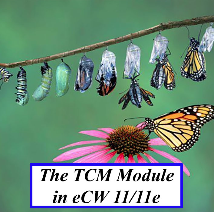 The Transitional Care Management Module in eCW 11 and eCw 11e