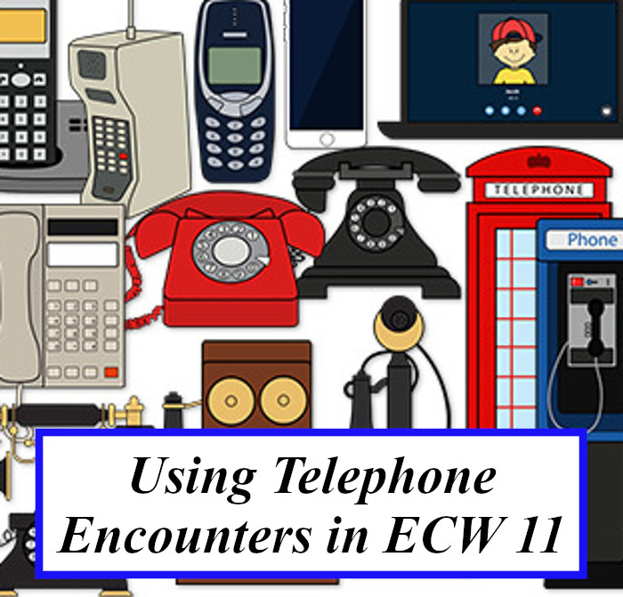 Using Telephone Encounters in eCW 11