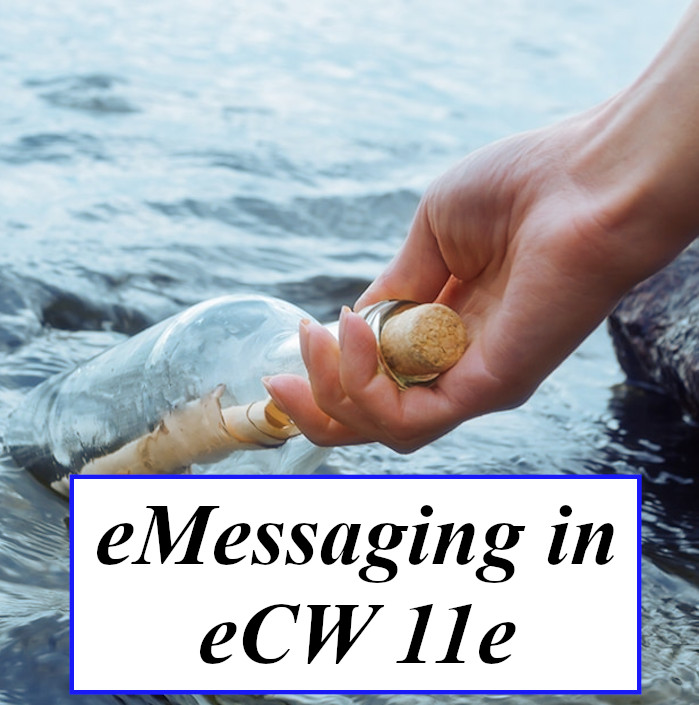 Sending eMessages in eCW 11e