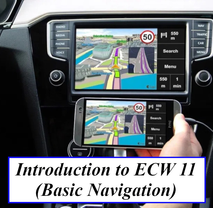 Introduction to eCW 11 (Basic Navigation)